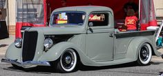 4-corner-idle: 1936 Ford pickup   Andrew Ledford Views
