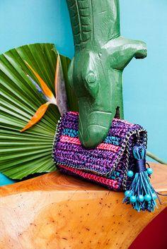 Catarina Mina + Neon - De crochê, em outro modelo (R$ 579)