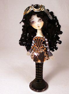 Custom Pin Doll