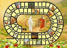 Voorkeur Kopje Thee(a): Christelijke spelletjes om te spelen met Pasen XN38