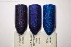FUN Lacquer Starry night of the summer A-England Tristam Zoya Dream