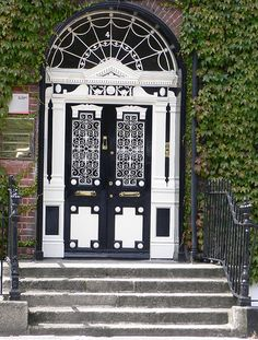 A door in Dublin, Ireland - OH MY!!!! Incredible. I could like with this as my front door... I guess :)