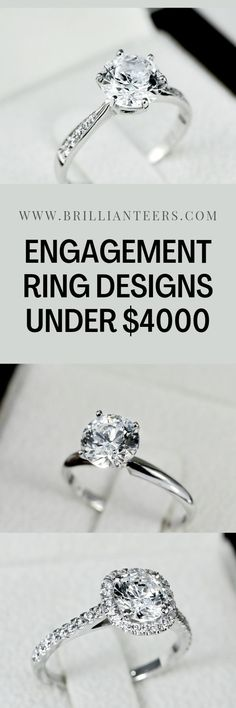 Shop Affordable Engagement rings with www.Brillianteers.com. We have conveniently categorized our ring designs according to affordable budget prices, to help you find that PERFECT RING, for the PERFECT PRICE ❤ Designer Engagement Rings, Ring Designs, Diamond Rings, Budget, Crystals, Shop, Jewelry, Ideas, Jewlery