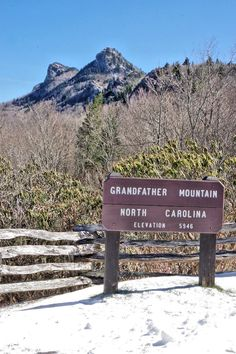 See our insider's guide to Grandfather Mountain near Asheville North Carolina for hiking, the famous mile-high swinging bridge, mini zoo and amazing mountain scenery. Nc Mountains, North Carolina Mountains, Blue Ridge Mountains, Appalachian Mountains, Blue Ridge Parkway Virginia, Hiking Places, Mountain Pictures, Landscape Photos, Landscape Photography