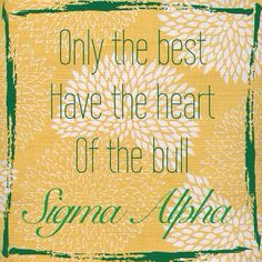 Sigma Alpha - Sisters in Agriculture