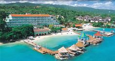 Sandals Ochos Rios on vacation with my husband.