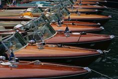 Always looking for the best novelties in lifestyle, today Luxury Safes present you Riva's luxury yachts. The Riva boatyard was established in 1842 on Lake Iseo, Wooden Speed Boats, Wood Boats, Plywood Boat, Riva Yachts, Luxury Yachts, Riva Boot, Chris Craft Boats, Classic Wooden Boats, Wood Boat Plans
