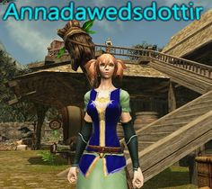 Anna Dawedsdottir -- my avatar in Dragon's Prophet MMORPG --I only played it once or twice.