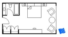 Master Bedroom Floor Plan   Standard Hotel Layout. Click Through For More  Master Suite Floor