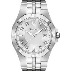 Men's Bulova Diamond Watch 96D107  $280.00