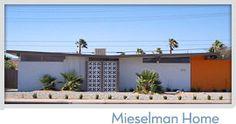 Meiselman midcentury modern homes in Palm Springs