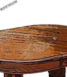 How to Fix a Furniture Finish | Make nicks, dings, and scratches in furniture disappear with these pro methods. This will come in handy at my place!  - lemon juice / vinegar/ olive oil / tea bags ....