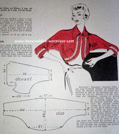 Revue Vintage « Mon ouvrage » Août 1950 en intégralité, avec patron couture, tricot, crochet, recette de cuisine