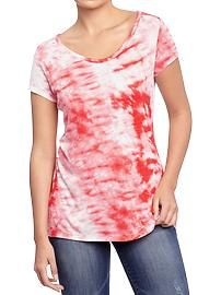 Womens Tie-Dyed Tees