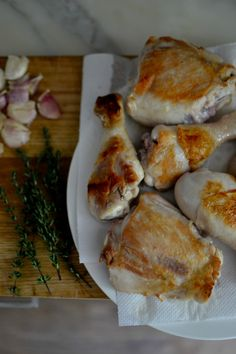 Braised Chicken With