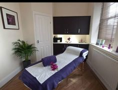 Colonic hydrotherapy treatment room