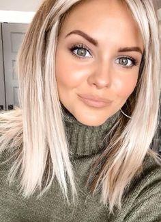 Medium Hair Cuts, Medium Hair Styles, Curly Hair Styles, Natural Hair Styles, Medium Blonde Hairstyles, Medium Length Haircuts, Medium Length Blonde, Brown Blonde Hair, Blonde Lob Hair