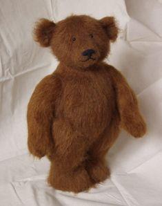 Stuffed Animals by Natasha Fadeeva - Young teddy bear