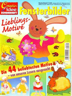 Creativ Idee Sonderheft - Fensterbilder - Lieblings-Motive - Comatus Coprinus - Álbuns da web do Picasa Crafts To Make, Crafts For Kids, Album, Tole Painting, Paper Cutting, Decoration, Winnie The Pooh, Pikachu, Projects To Try