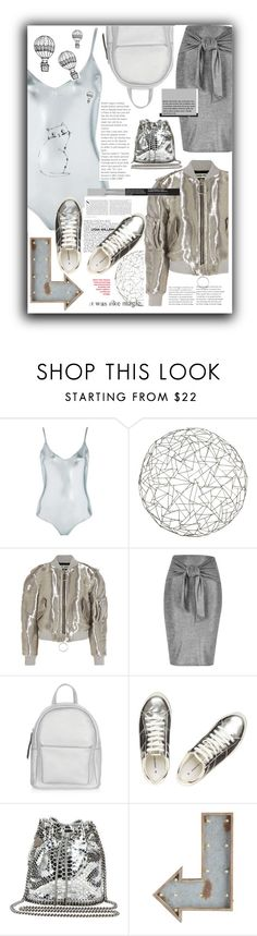 """""""street style"""" by agatka-lewek ❤ liked on Polyvore featuring Topshop, Arteriors, INDIE HAIR, Off-White, River Island, New Look, Dorothy Perkins, STELLA McCARTNEY, Pier 1 Imports and Kershaw"""