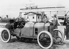 1913 Indy - Jules Goux. Jules Goux won the 1912 Sarthe Cup at Le Mans driving a Peugeot, and in 1913 he travelled with the team to the United States to compete in the Indianapolis 500 race. Goux won the race, becoming the first French person to ever do so