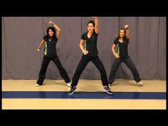 This one literally and spiritually moves me!  Hot Z Team has Christian Hip Hop Dance Workout videos!  So cool!