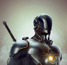 Yasha, Rakan Khamash in 25+ Incredible 3D Robots