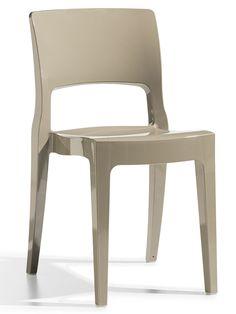 Isy stoel grijs - Scab Design