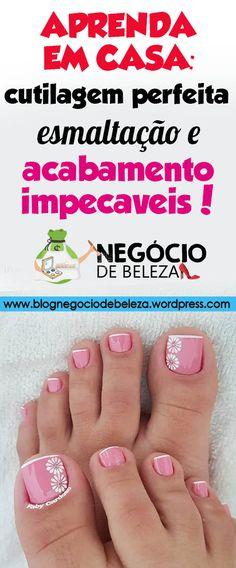 45 Super Ideas For Gel Pedicure Diy Pedicure Nail Art, French Pedicure, Pedicure Colors, Manicure And Pedicure, Toe Nail Color, Toe Nail Art, Cute Toe Nails, Summer Toe Nails, Nail Designer