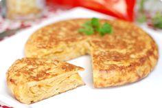 Tortilla española exprés con patatas de bolsa   Velocidad Cuchara