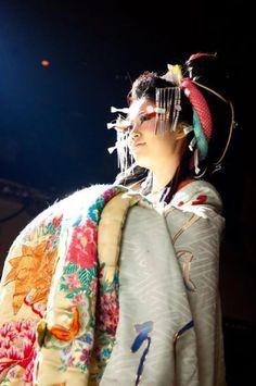 花魁 OIRAN JAPAN KIMONO