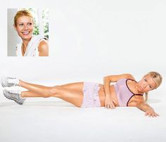 Gwyneth Paltrow's Flat-Abs Move great for excercise