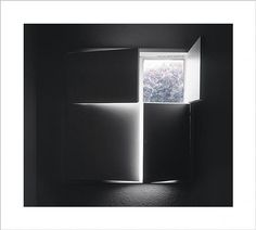Luisa Lambri Untitled (Barragan House, 2005 Laserchrome print Edition of 5 and 1 artist's proof 33 X 37 inches X 96 cm) Contemporary Photographers, Photo Black, Modern Minimalist, Art Photography, Architecture, Interior, Architectural Photography, Image, Uni