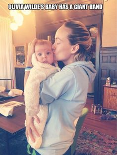 The Best Funny Pictures Of Today's Internet #funny #pictures #photos #pics #humor #comedy #hilarious #joke #jokes #celebrity #celebrities #olivia #wilde #baby #babies