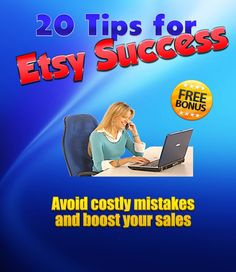 EBook 20 Tips for Etsy Success by SummerScentSations, $9.99