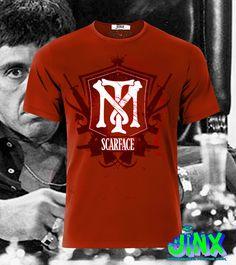 $179.00 Playera o Camiseta Tony Montana Scarface Logo - Jinx