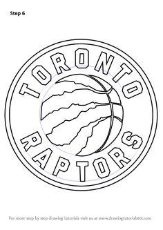 Toronto Raptors Logo Coloring Pages Boys Basketball Bedroom, Basketball Birthday, Basketball Party, Logo Basketball, Basketball Posters, Sports Coloring Pages, Colouring Pages, Toronto Raptors, Summer Chalkboard Art