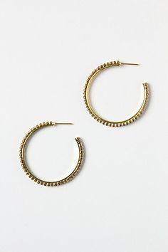 Jewel Slice Earrings #anthropologie