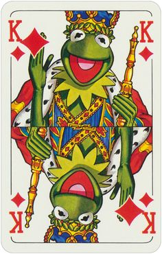 1978 Muppet playing cards King of Diamonds