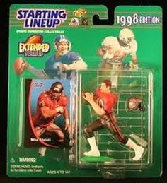 Mike Alsott Tampa Bay Buccaneers Starting Lineup Action Figure NFL BUCS NIB NIP #MikeAlsott #TampaBayBuccaneers #Bucs #StartingLineup #NFL #ActionFigures #TBBucs #MarvelousMarvs
