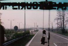 Einfahrt in die DDR  Grenzübergang Gudow-Zarrentin an der Transitautobahn Hamburg-Berlin