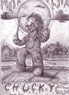 Chucky Chucky, Horror Movies, A Good Man, Kids Playing, Coloring, Guys, Children, Art, Movies