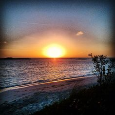 Beautiful #sunset in the Bahamas… wish I was back there…