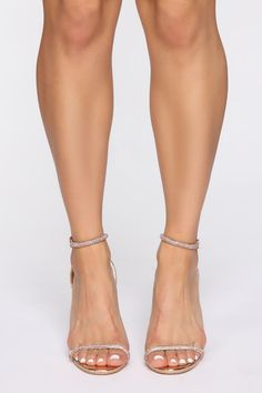 Crossing You Heeled Sandals - Rose Gold – Fashion Nova Beautiful Heels, Gorgeous Feet, Silver Block Heel Sandals, Heeled Sandals, Heeled Boots, Stiletto Heels, High Heels, White Toes, Zapatos Shoes