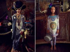 Camilla Frank caftan fall 2013 global tribal bohemian luxe glamour glam moroccan indian bejeweled pattern mixing