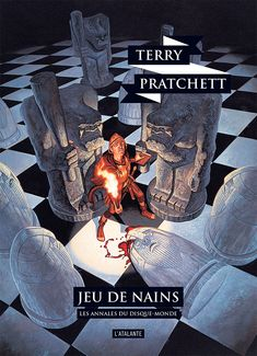 Nouvelle édition ! Jeu de nains de Terry Pratchett, Les Annales du Disque-monde (livre 34, 2018) ©Paul Kidby / Leraf