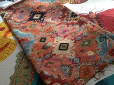 """8/20/13 - Home Dec - Caucasus tapestry - poly/rayon - $59.99 - 54"""" wide"""