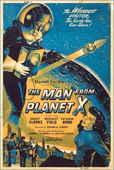 wonderful-strange:  The Man From Planet X, 1951.