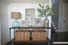 Spring in the Family Room - The Sunny Side Up Blog