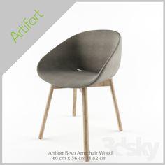 OM Artifort Beso Armchair Wood